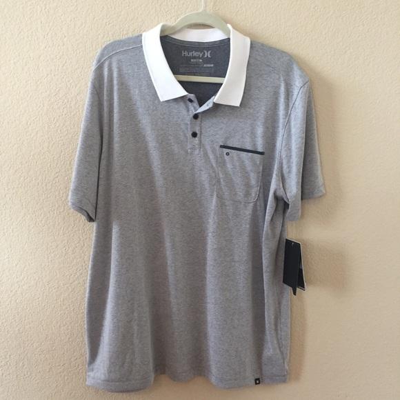 2548b4c36d4 Hurley by Nike dri-fit Lagos polo shirt XL NWT
